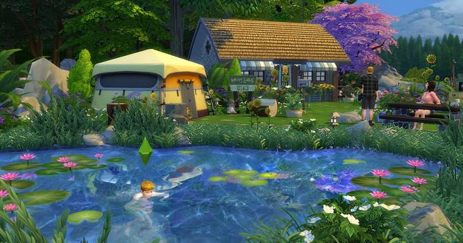 Clapotis camp lot at Studio Sims Creation image 17211 Sims 4 Updates