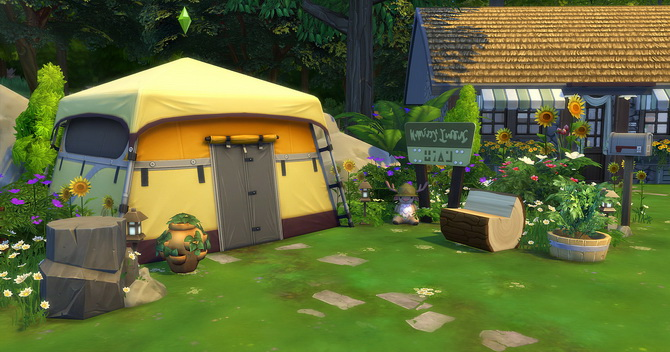 Clapotis camp lot at Studio Sims Creation image 17310 Sims 4 Updates