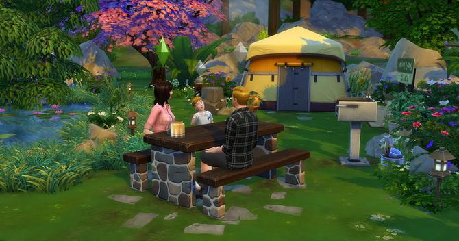 Clapotis camp lot at Studio Sims Creation image 1749 Sims 4 Updates