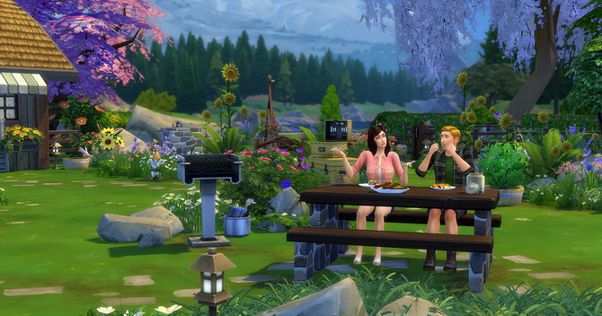 Clapotis camp lot at Studio Sims Creation image 1758 Sims 4 Updates