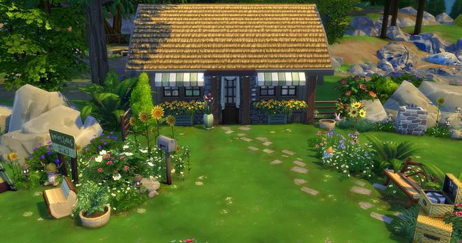 Clapotis camp lot at Studio Sims Creation image 1767 Sims 4 Updates