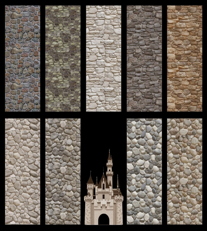 Old Castle Stne Walls And Floors At Mara45123 187 Sims 4 Updates