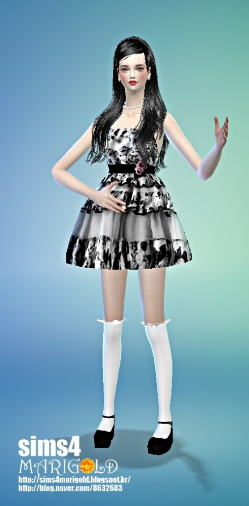 Flower mini dress at Marigold image 18361 Sims 4 Updates