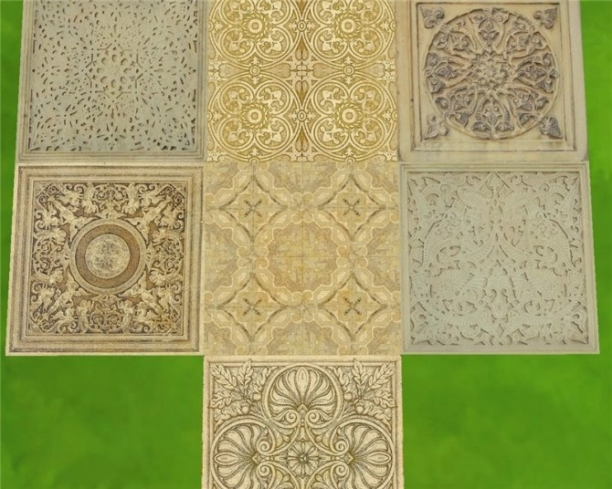 Sims 4 Old castle stne walls and floors at Mara45123