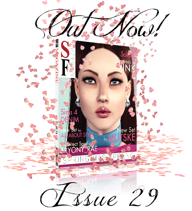 Sims 4 Spring Has Sprung issue 29 at SF Magazine