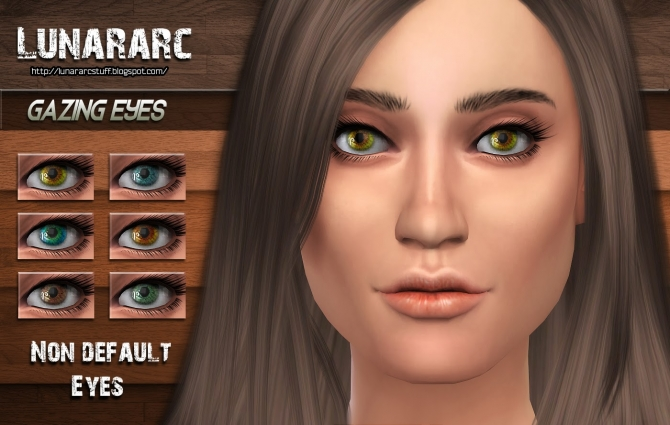 Gazing Eyes non deafult contacts at Lunararc image 186 Sims 4 Updates