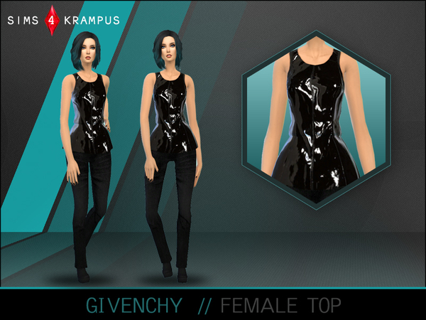 Designer Top by SIms4Krampus at TSR image 1866 Sims 4 Updates