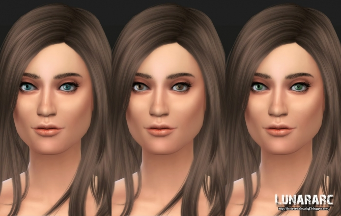 Gazing Eyes non deafult contacts at Lunararc image 187 Sims 4 Updates