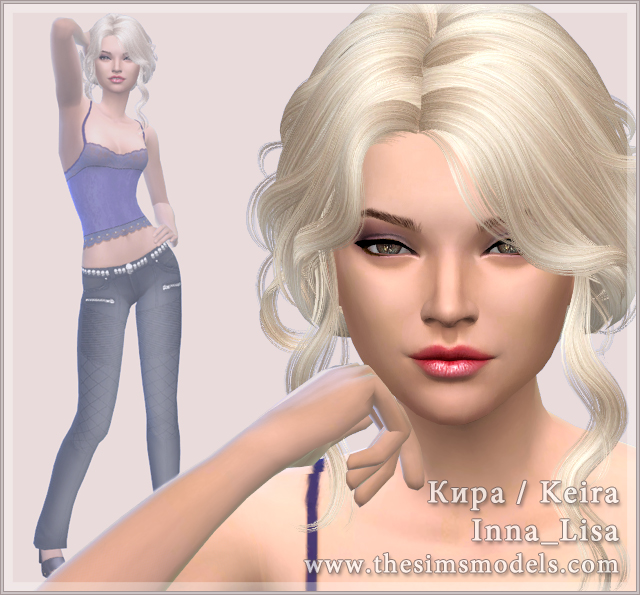 Keira by Inna Lisa at The Sims Models image 18721 Sims 4 Updates