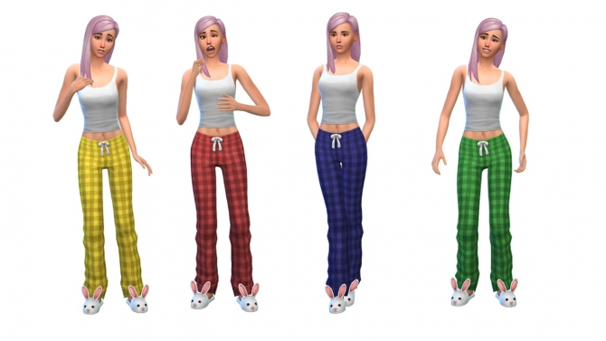 Plaid pajamas at Nyloa image 1881 Sims 4 Updates