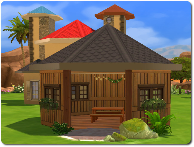 Sims 4 Colored roofs by Christine1000 at Sims Marktplatz