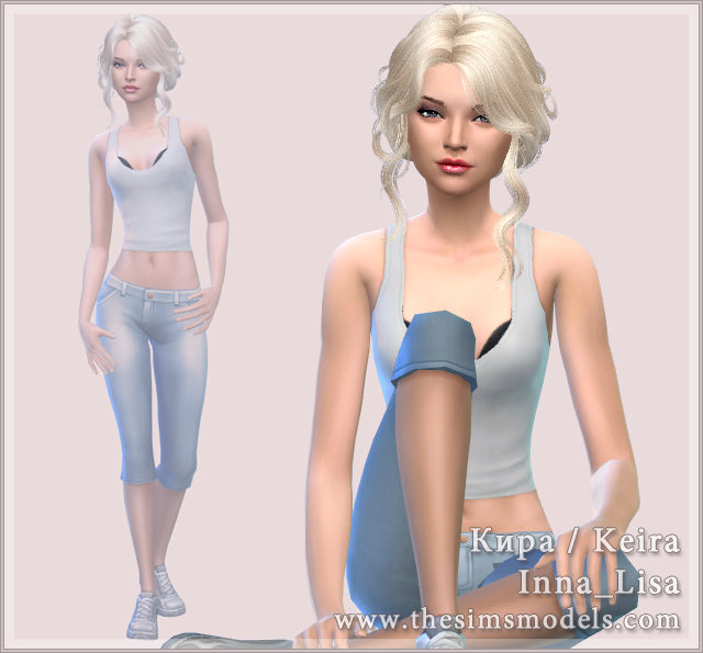 Keira by Inna Lisa at The Sims Models image 19021 Sims 4 Updates