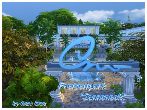 Sims 4 Sonneneck Amusement Park by Maxi Sims at Akisima