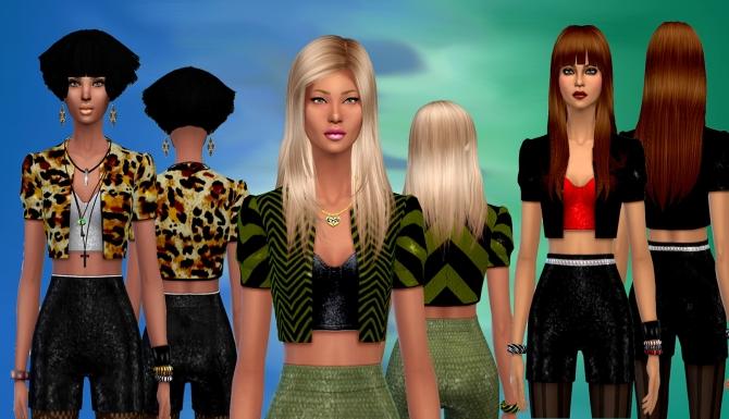 Jacket & Shorts set at Dreaming 4 Sims image 1930 Sims 4 Updates