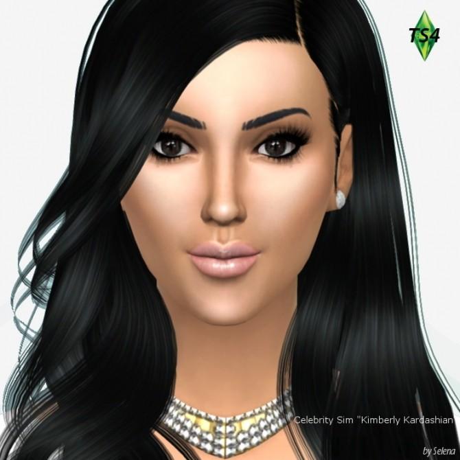 Sims 4 Kimberly Kardashian by Selena at Sims 4 Celebrities