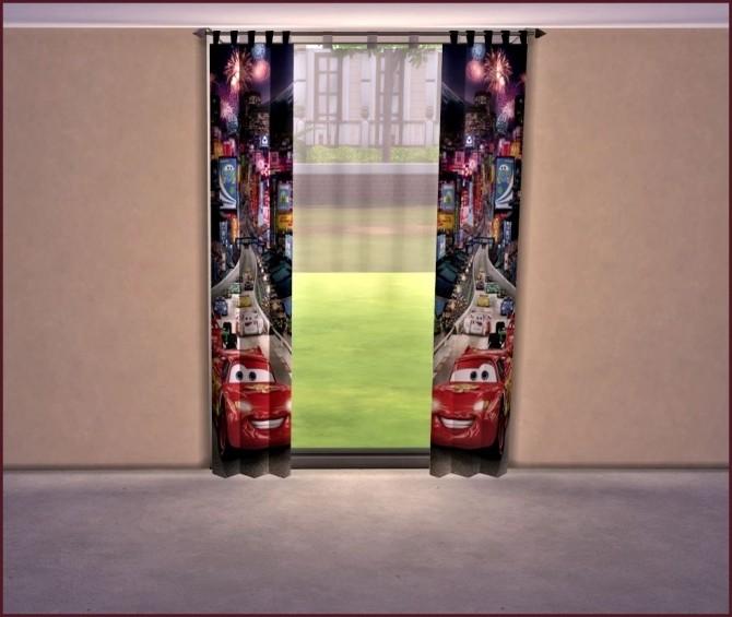 Sims 4 Curtains by Sonnenschein56 at Sims Marktplatz