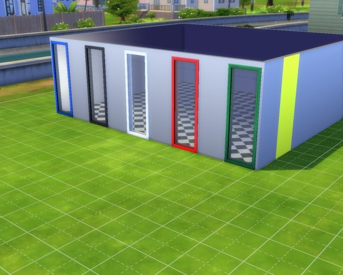 Sims 4 Let There Be Light short Window by mojo007 at Mod The Sims