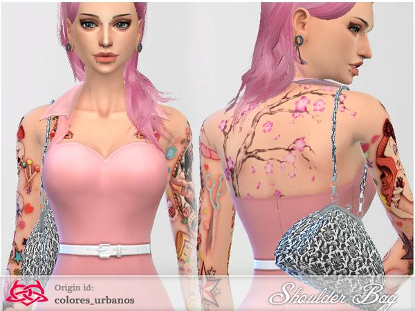 Sims 4 Shoulder Bag 02 by Colores Urbanos at TSR