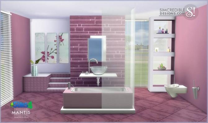 Mantis bathroom at SIMcredible! Designs 4 image 2052 Sims 4 Updates