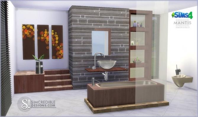 Simcredible Designs 4 Mantis Bathroom 187 Sims 4 Updates