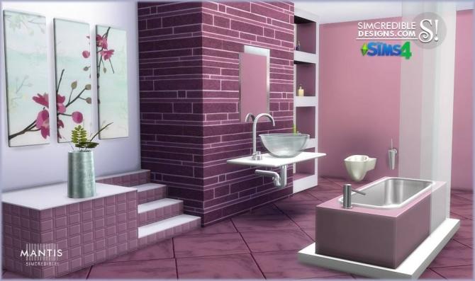 simcredible designs 4 mantis bathroom sims 4 updates On bathroom ideas sims 4