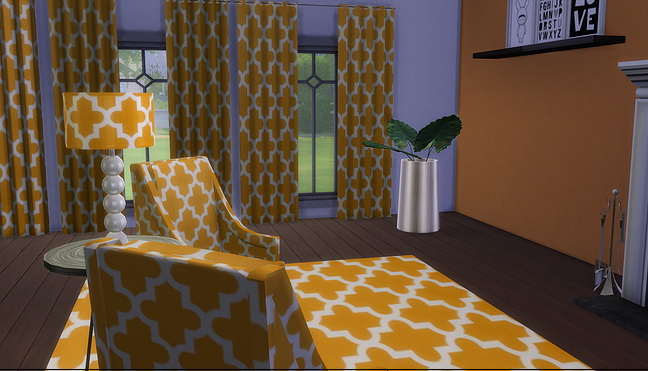 Sims 4 Moroccan Moderne set at Meinkatz Creations