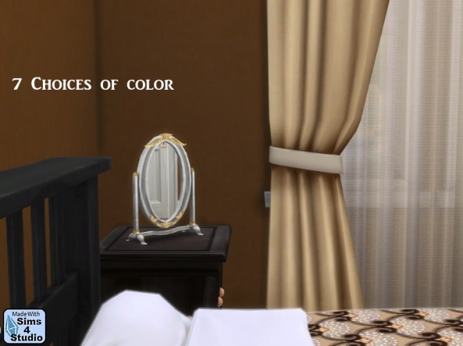 Decisively Dainty Table Mirror by OM at Sims 4 Studio image 21041 670x501 Sims 4 Updates