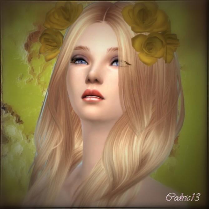 Sims 4 Amandine by Cedric13 at L'univers de Nicole