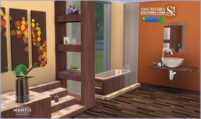 Mantis bathroom at SIMcredible! Designs 4 image 2132 Sims 4 Updates
