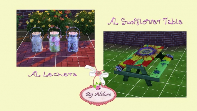 MORE GARDEN STUFF at Alelore Sims Blog image 2141 Sims 4 Updates