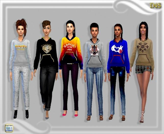 Sims 4 Hoodies at Dreaming 4 Sims