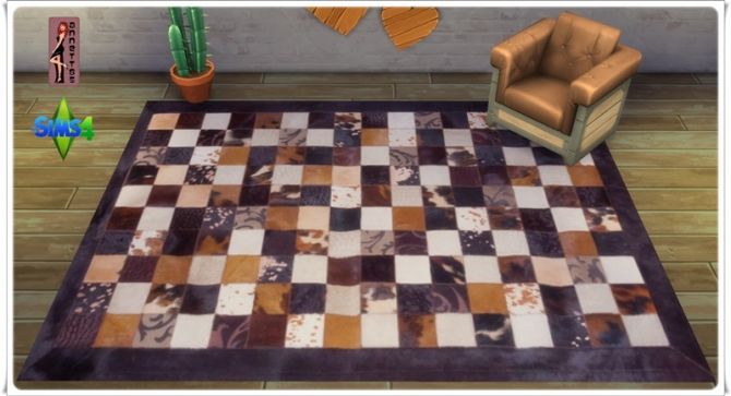 Africa rugs at Annett's Sims 4 Welt image 2183 Sims 4 Updates