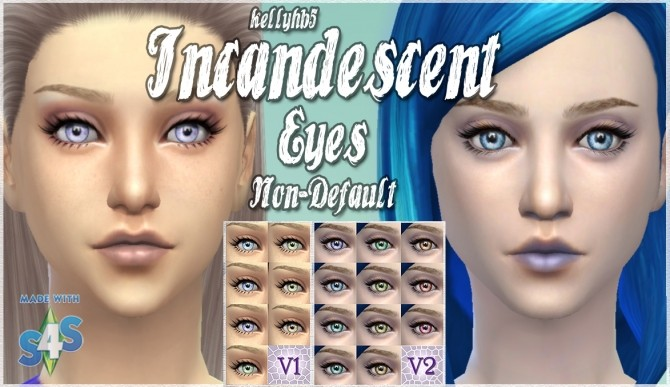 Sims 4 Alien Incandescent contact eyes by kellyhb5 at Mod The Sims