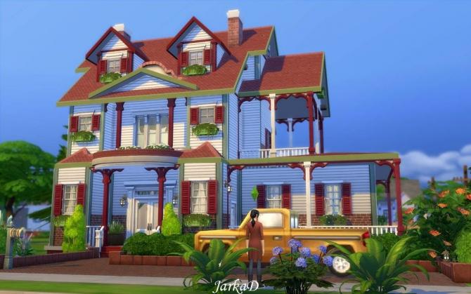 Family House No.5 at JarkaD Sims 4 Blog image 2224 Sims 4 Updates