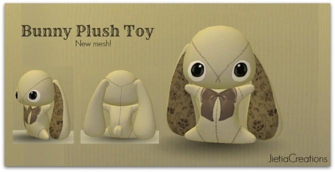 Sims 4 Bunny plush toy at Jietia Creations