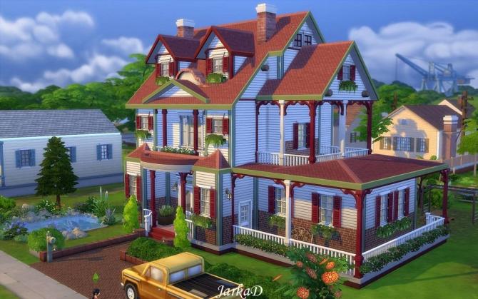 Family House No.5 at JarkaD Sims 4 Blog image 2234 Sims 4 Updates