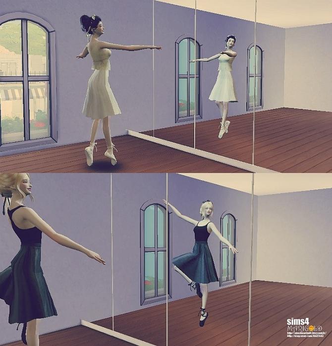 Ribbon Ballet Shoes At Marigold 187 Sims 4 Updates