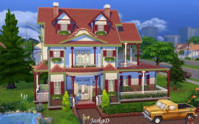 Family House No.5 at JarkaD Sims 4 Blog image 2244 Sims 4 Updates