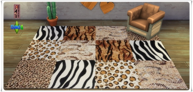 Africa rugs at Annett's Sims 4 Welt image 2252 Sims 4 Updates