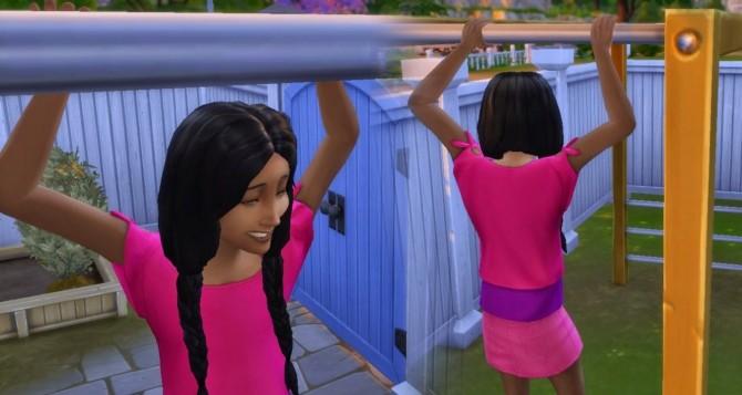 Sims 4 Braiding Hair for Girls at My Stuff