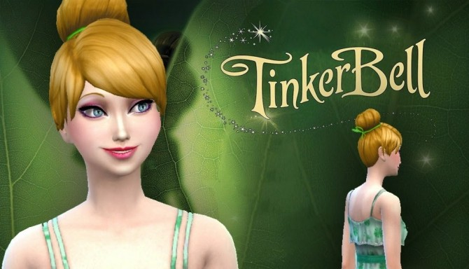 Sims 4 Tinkerbell Hair at My Stuff