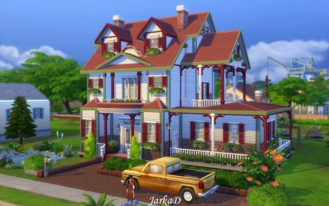 Family House No.5 at JarkaD Sims 4 Blog image 2273 Sims 4 Updates