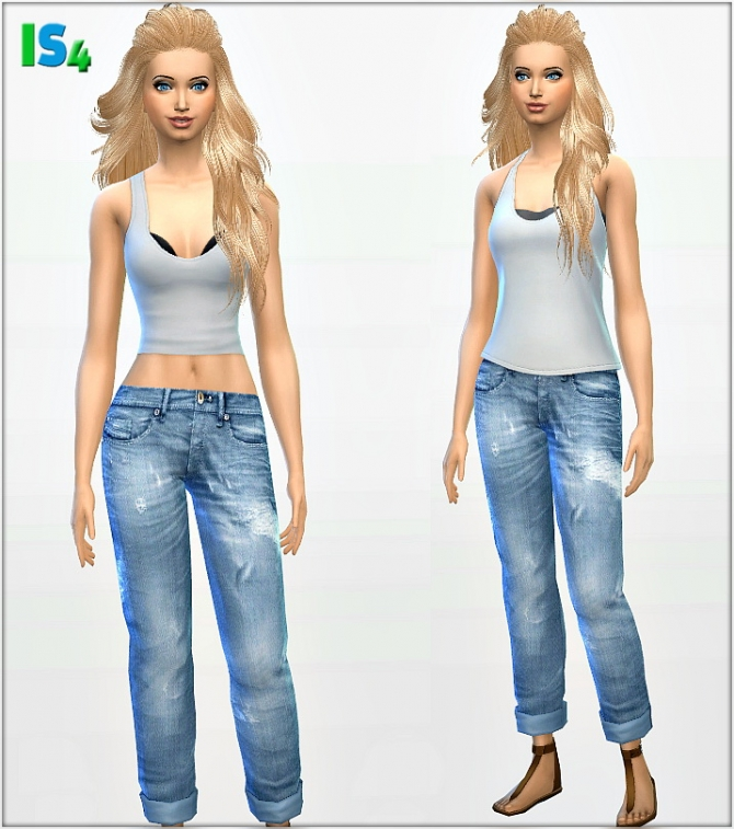 Sims 4 Jeans 2 IS4 at Irida Sims4