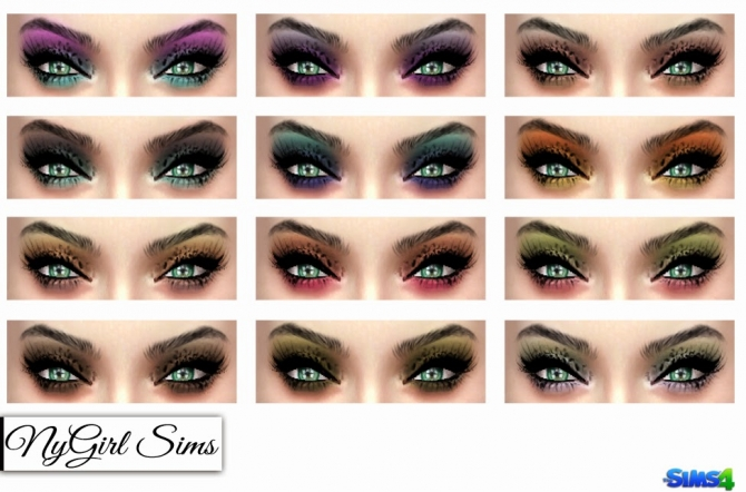 Ombre Cat Eye Shadow at NyGirl Sims image 228 Sims 4 Updates
