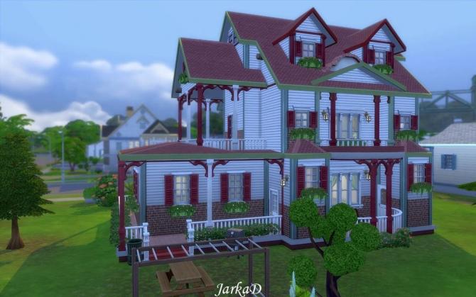 Family House No.5 at JarkaD Sims 4 Blog image 2283 Sims 4 Updates