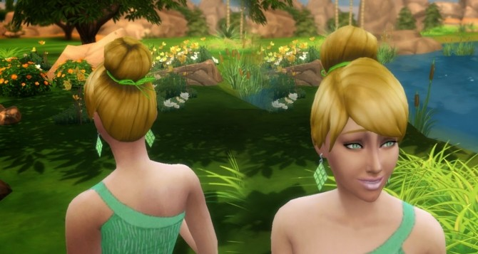 Tinkerbell Hair At My Stuff 187 Sims 4 Updates