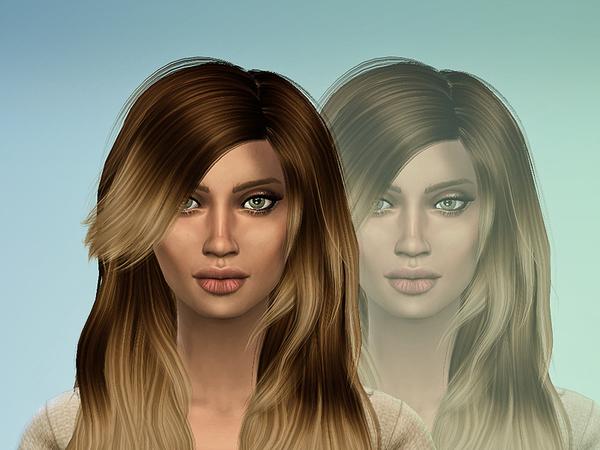 Sims 4 Kendall Edwards by martinakerr at TSR