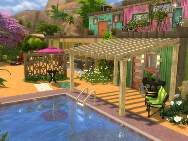 Container Port by Leander Belgraves at TSR image 2319 Sims 4 Updates