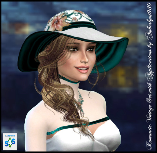 Romantic Vintage Set + Necklace at Amberlyn Designs image 236 Sims 4 Updates