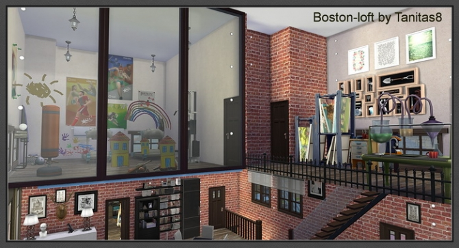 Boston Loft At Tanitas8 Sims 187 Sims 4 Updates